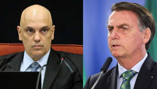 Bolsonaro ameaça ministro do STF