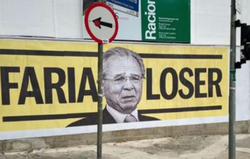 Paulo Guedes vira Faria Loser