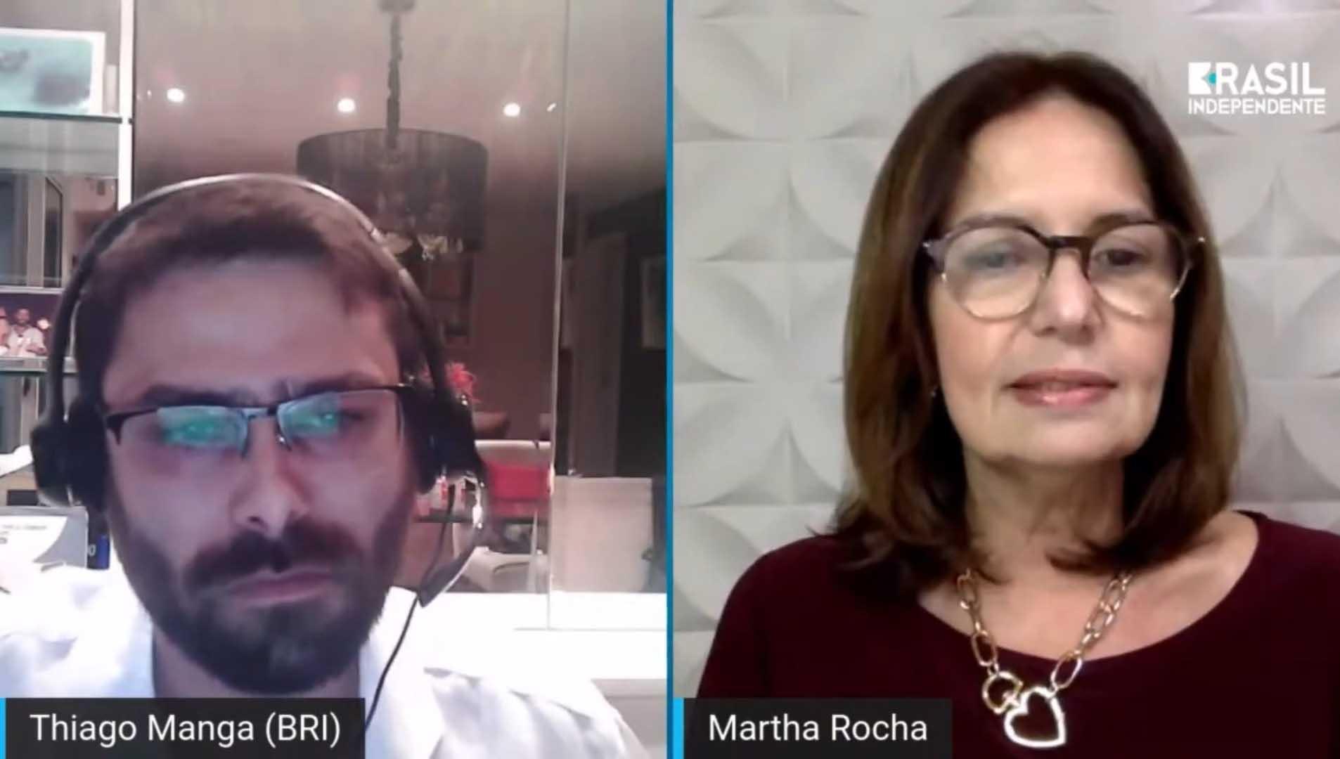 Martha Rocha sobre eleições do RJ