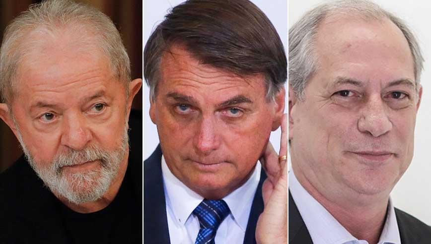 Eleição presidencial com 3 candidatos no 2º turno