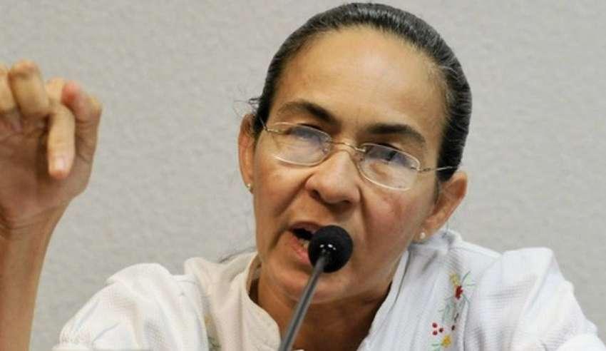 Heloisa Helena defende ato contra Bolsonaro