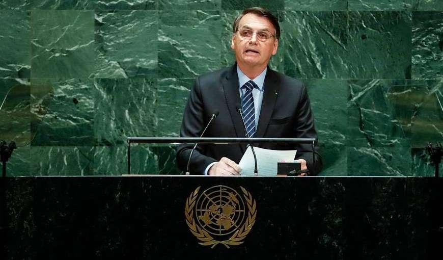 Bolsonaro mira fanáticos em discurso na ONU