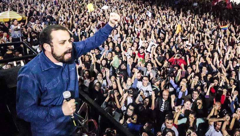 PSOL lança Boulos para o governo de São Paulo