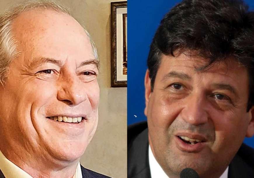 Ciro Gomes e Mandetta ensaiam chapa para as eleições
