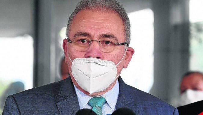 Ministro da Saúde testa positivo para covid-19