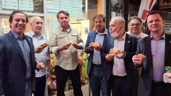 Delegação de Bolsonaro nos EUA