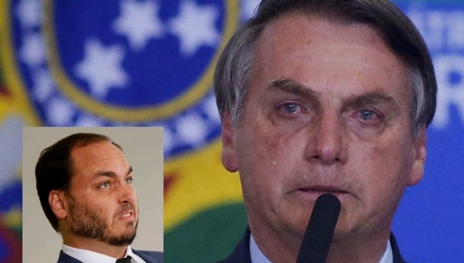 Bolsonaro ligou chorando para Moraes