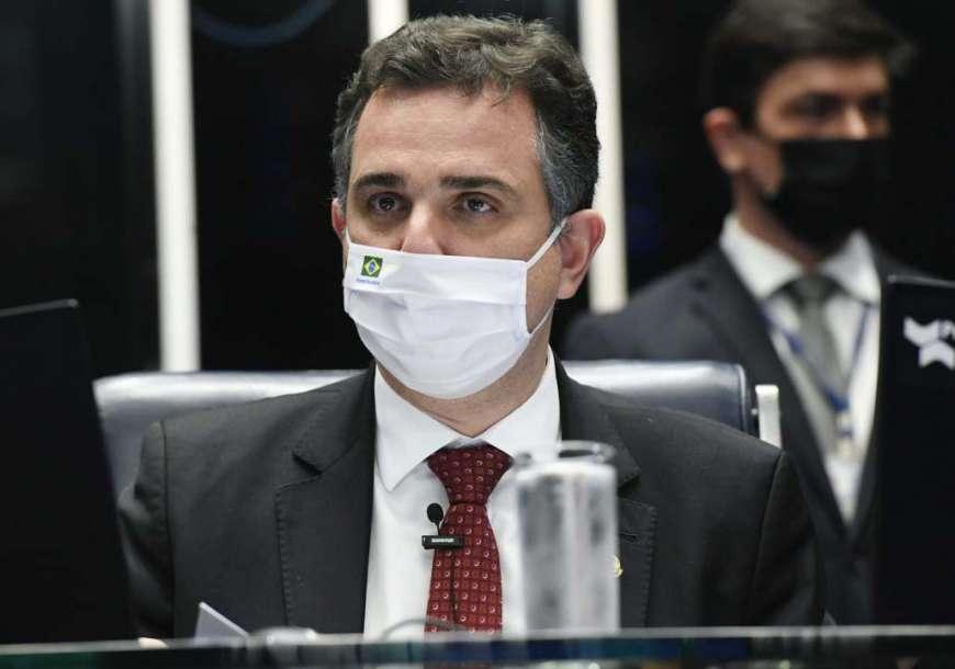Pacheco cancela todas as sessões do Senado