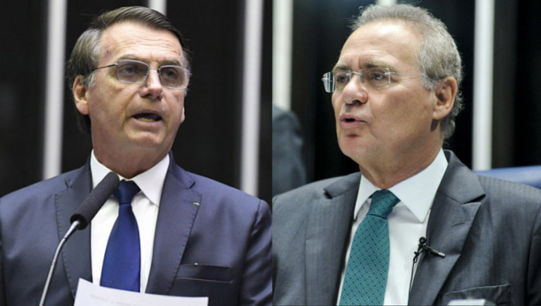 Renan indiciará Bolsonaro por prevaricação