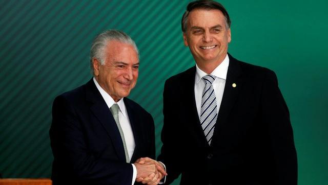 Bolsonaro manso com STF