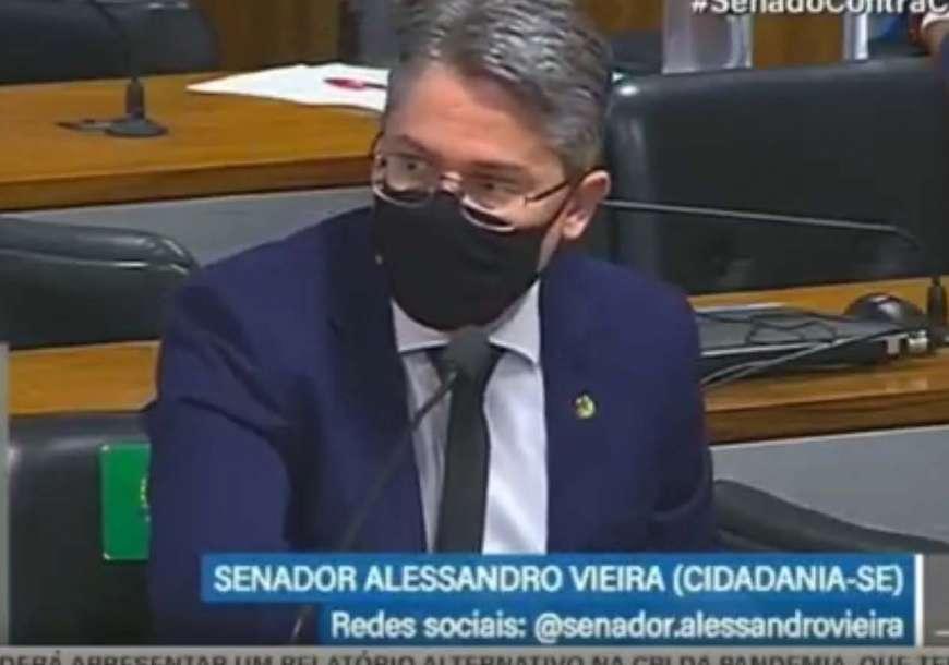 Alessandro Vieira provoca Marcos Rogério