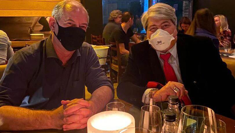Ciro Gomes e Datena jantam de olho em 2022