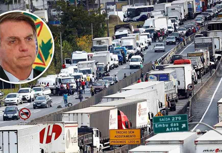 Caminhoneiros marcam greve