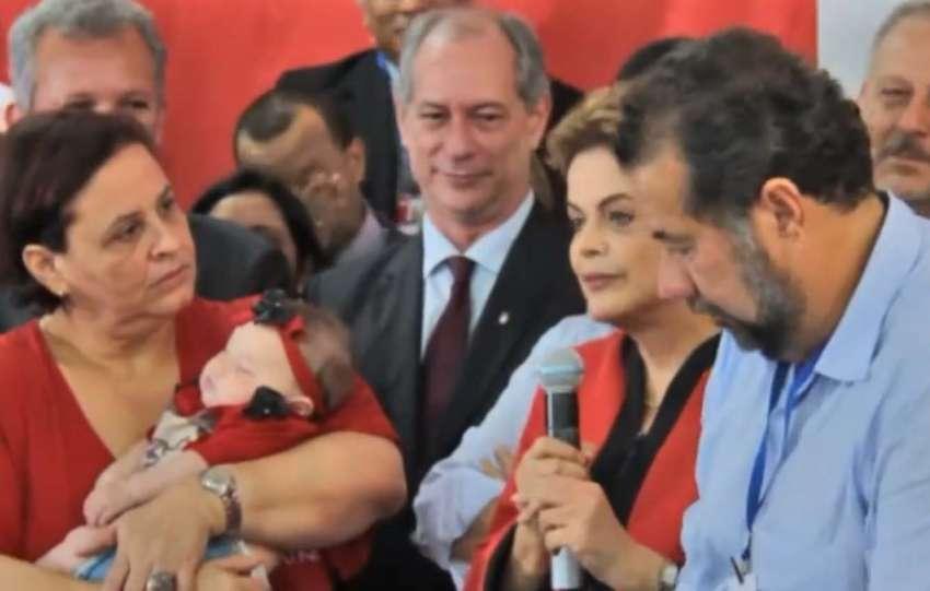 Dilma rasgou elogios a Ciro Gomes em 2016