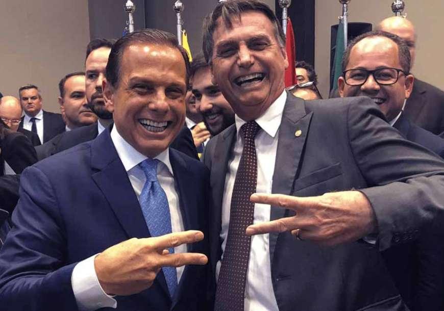 Bolsonaro quer Doria em 2022