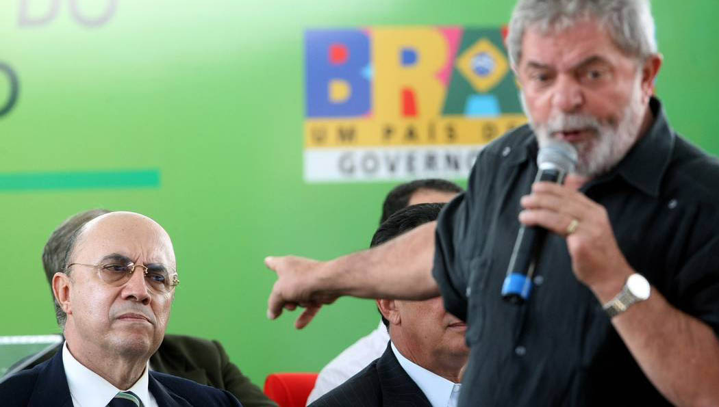 Lula quer Meirelles vice em 2022