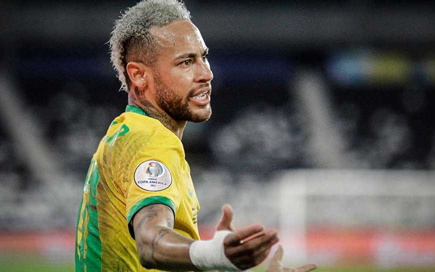 Neymar vira idiota ao vivo na Globo