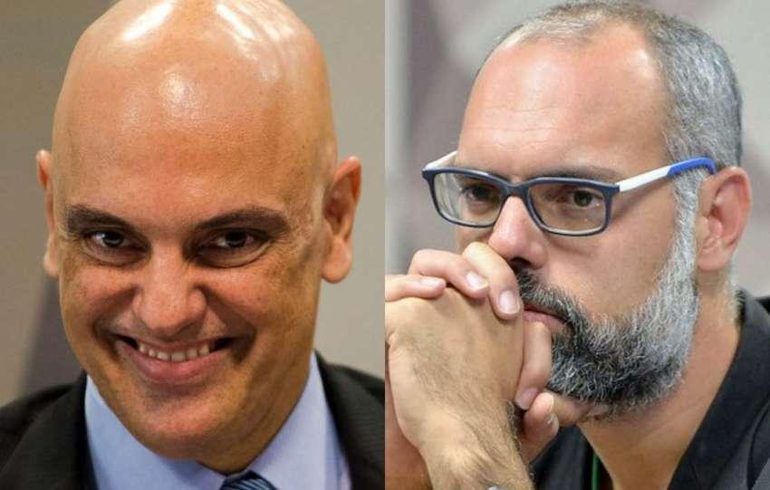 Blogueiro ameaça Moraes