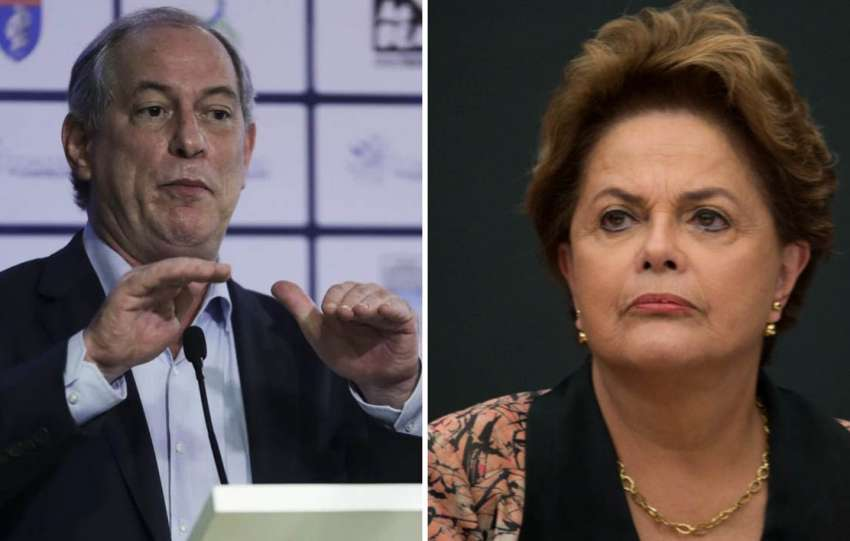 Ciro Gomes rebate Dilma